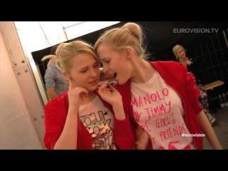 Tolmachevy Sisters (Russia) singing Sanna Nielsen's Undo