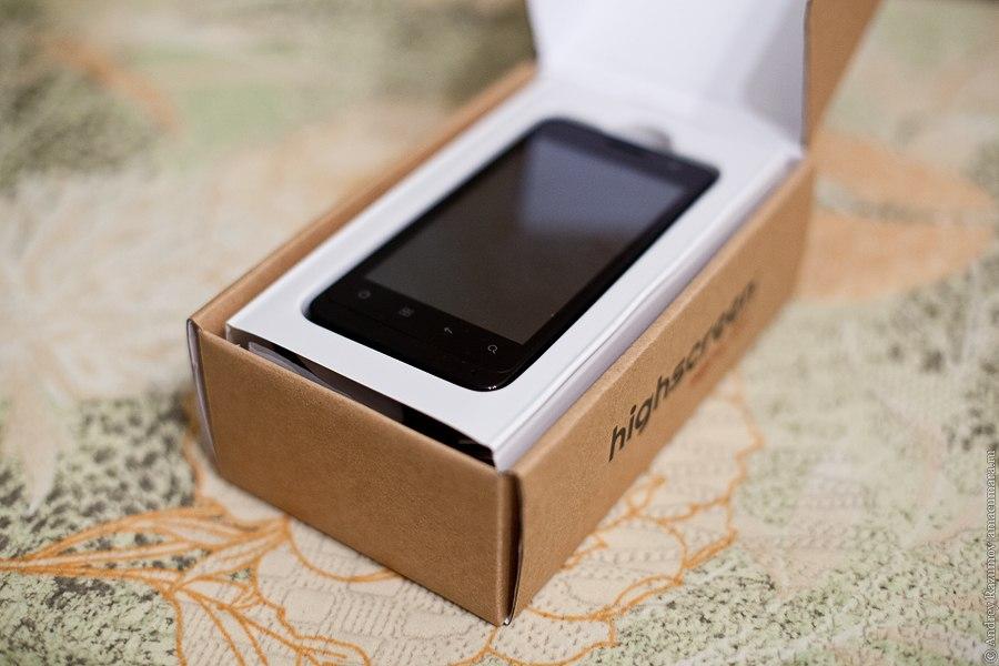 Highscreen Alpha GT обзор смартфона