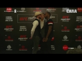 Fight Night Singapore Media Day Faceoffs
