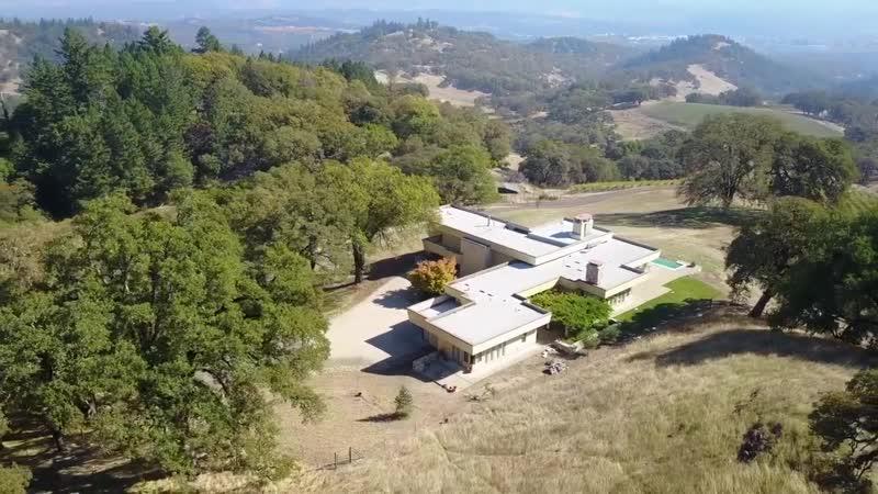 Sweeping Vineyard Marvel in Ukiah California