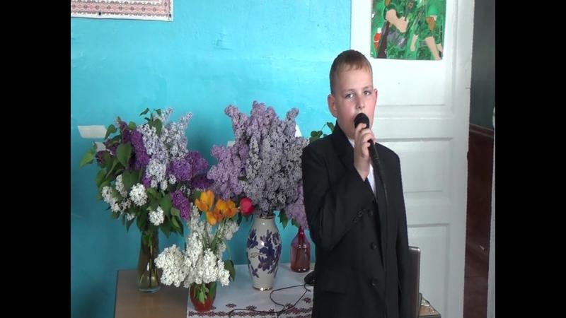 Я хочу что-бы не было больше войны Артём Крохолев 2-А школа № 37 г. Мариуполь (линейка, посвященная 9 Мая 2018г.)