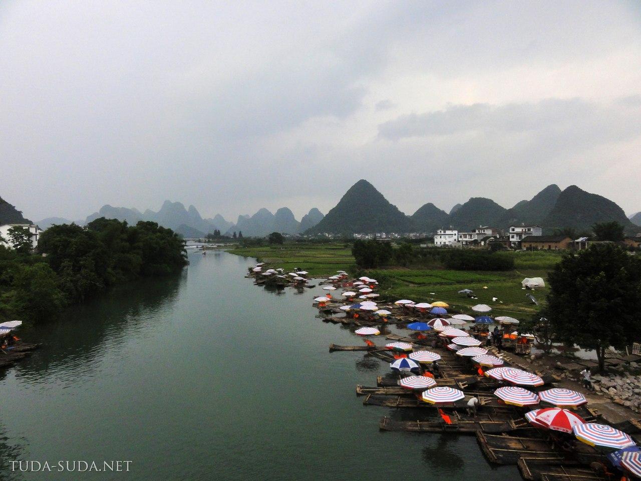 Мост Дракона, Китай