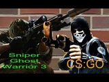 РЭП БАТТЛ Counter-StrikeGlobal Offencive VS Sniper Ghost Warrior 3