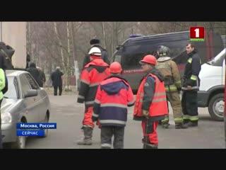 Сегодня утром людей эвакуировали из десяти торговых центров Москвы