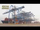 В порту Циндао расположен первый в Китае полностью автоматизированный контейнерный терминал