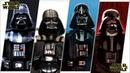 Darth Vader (Anakin Skywalker) Evolution in Movies, Cartoons TV.