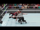 WWE 2K19 AJ STYLES vs SETH ROLLINS WrestleMania Arena FULL MATCH GAMEPLAY