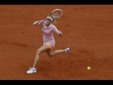 2014 ROLAND GARROS Maria Sharapova vs Ksenia Pervak Last Point