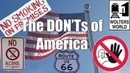 Visit America The DON'Ts of Visiting The USA