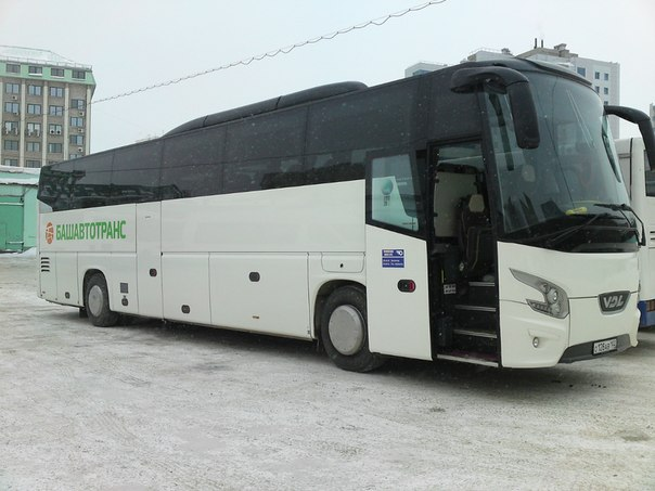 Вместимость автобусов от 48 до