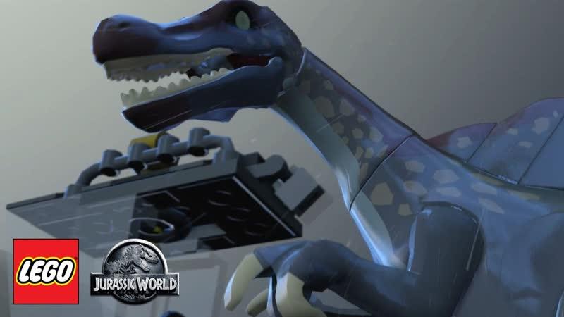 LEGO Jurassic World18 - Завершаем 3-ю сюжетную линию