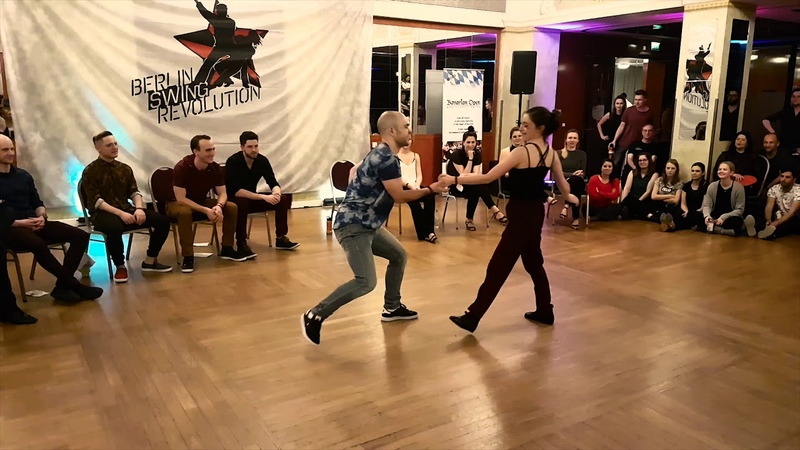 Aleksandr Rozhkov Raisa Khismatullina - 1st place Advanced JJ - Berlin Swing Revolution 2018