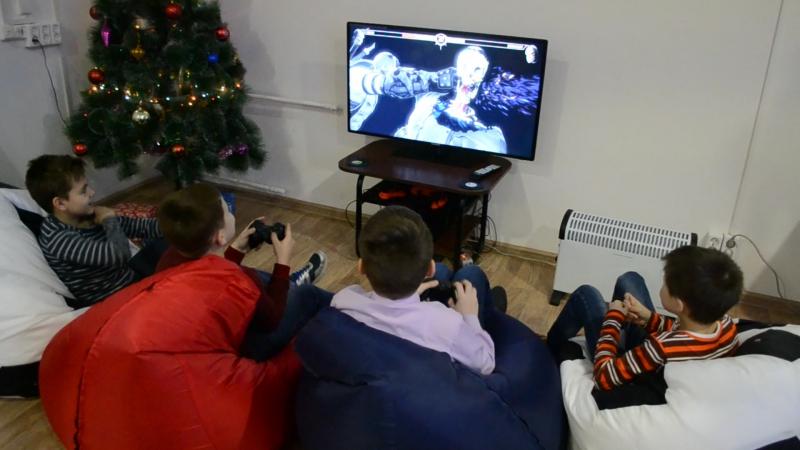 Соревнование по Mortal Kombat. Тайм-кафе Тетрис.