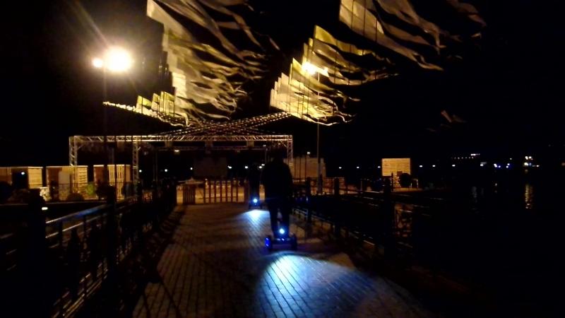 В ночь музеев возвращение домой.Было клёво на Верхнем оз.