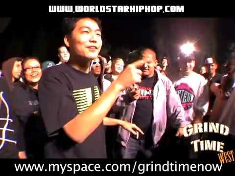 GTN Rap Battle- Tantrum vs Dumbfoundead Pt. 1
