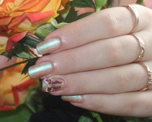 Покраска ногтей шеллаком
