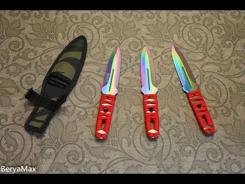 Метательные ножи Китайская дичь
