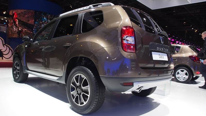 Dacia Duster Black Touch dCi 110 EDC 4x2 - Exterior and Interior Lookaround