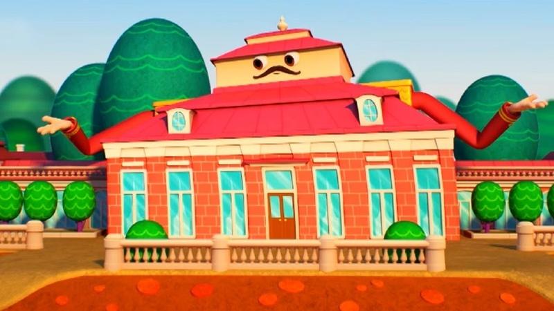 Домики - Монплезир - Обучающий мультфильм для детей - Санкт-Петербург
