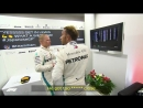 Japan 2018 Hamilton in the cooldown room