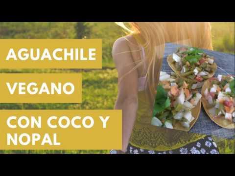 Recta Fácil - Aguachile Vegano de coco y nopal