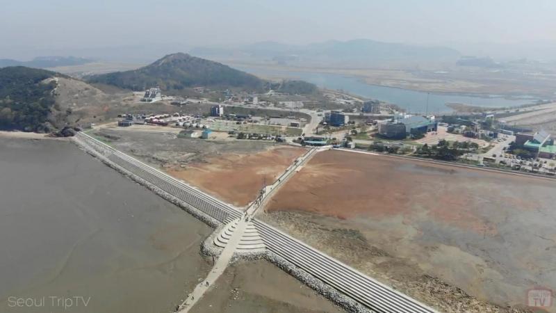 Южная Корея. Морское побережье. Порт Тандо. (1534)
