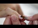 Маникюр Baby Nails на натуральных ногтях с укреплением свободного края