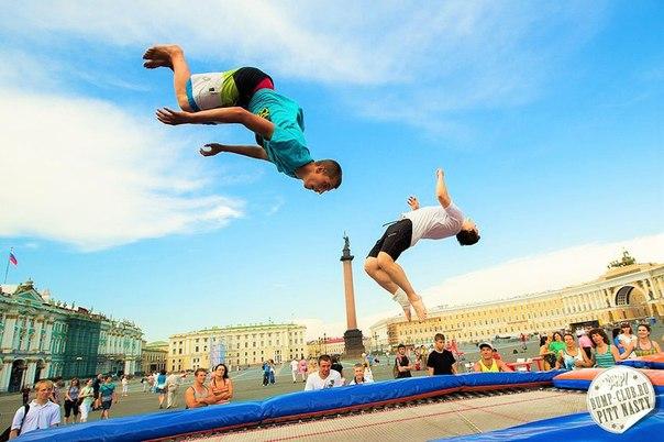 Веселье и батуты на  ВКонтакте