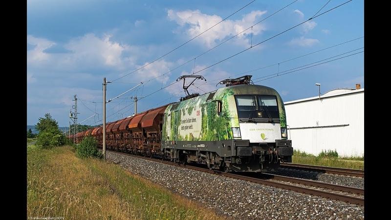 150 Jahre Brennerbahn Greenpoints, WRS Re 421, Railadventure 103 222 uvm. auf der Frankenwaldbahn