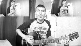 Мхббтем -  Алыу Бхтиева м Азат Зиганшин (кавер на гитаре/cover/ Тимур Усманов)