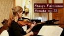 Stasys Vainiunas - Sonata for violin and piano op.38 (1971)