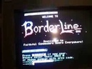 Borderline BBS tour - a real Commodore 64 dial-up BBS!