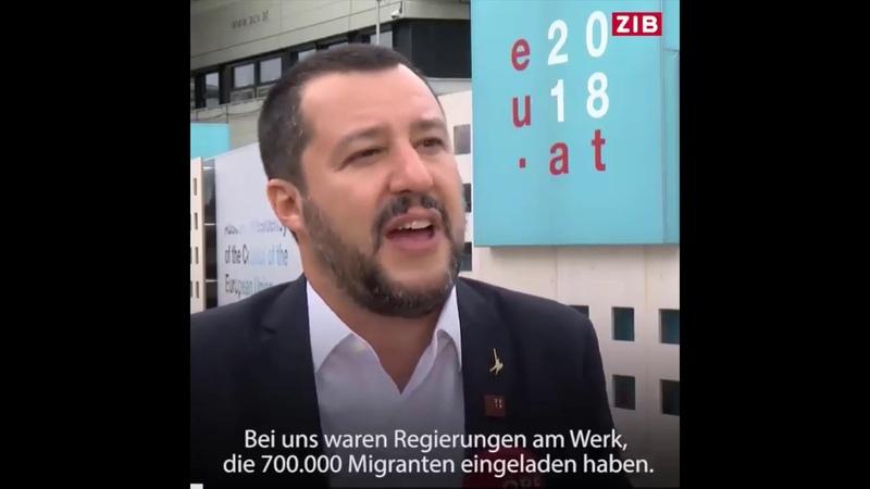M. Salvini: Europa wird sich bei den nächsten Wahlen gründlich ändern