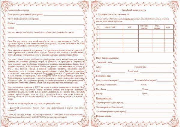 списки гостей на свадьбу для тамады образец - фото 11