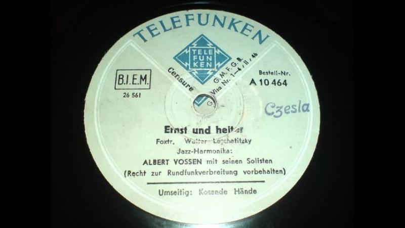 Albert Vossen - Ernst und heiter