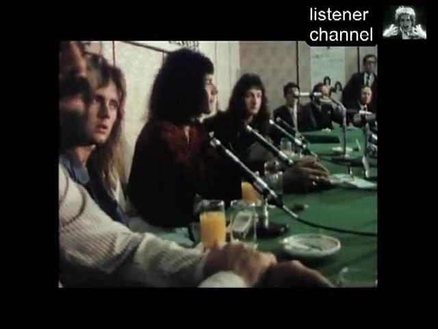Queen - Live In Japan 1975 - Press ConferenceTea Ceremony