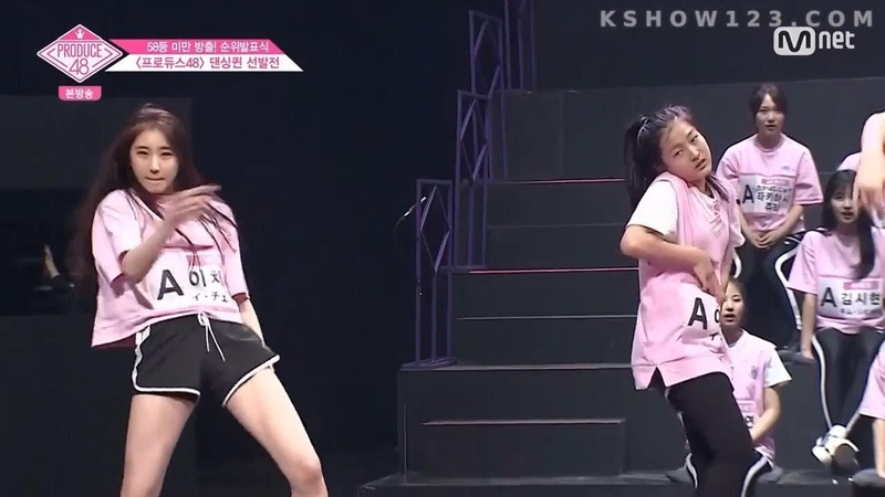 [Eng Sub] Produce48 Surprise! I.O.I Somi Chung Ha and 92 Trainees Dancing Queen Battle together
