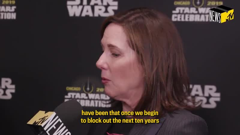 President Kathleen Kennedy talked to us about the future of StarWars – including a Knights of the Old Republic