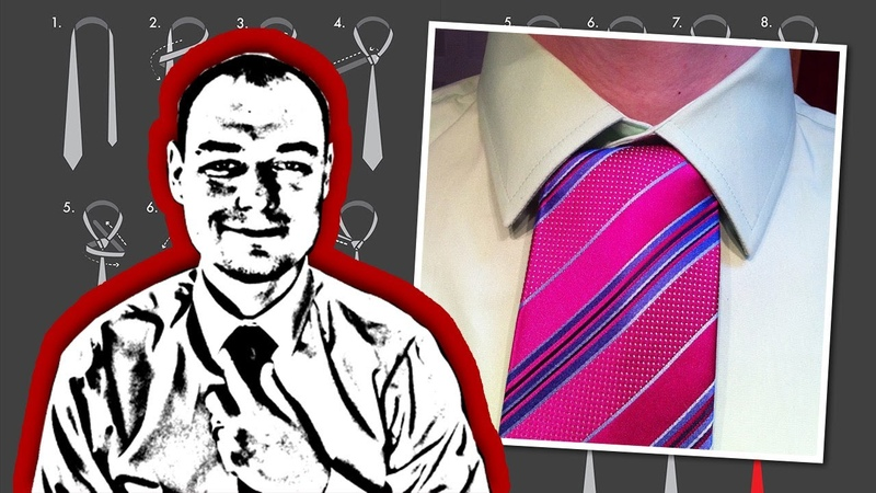 How to Tie a Necktie Onassis Knot