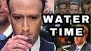 Mark Zuckerberg drinking water [ compilation ]