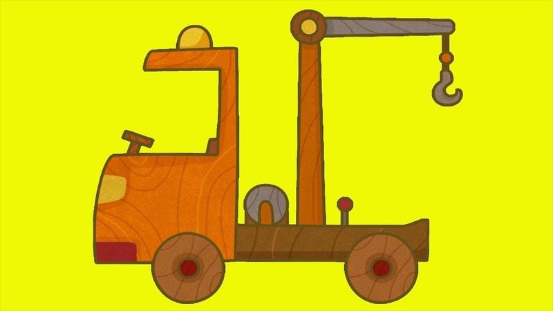 Dessin animé en français pour enfants de voitures avec Prabou la dépanneuse