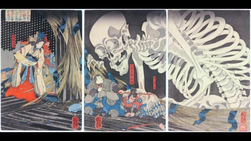 Искусство игры герои плывущего мира (2017) Art of the Game Ukiyo-e Heroes