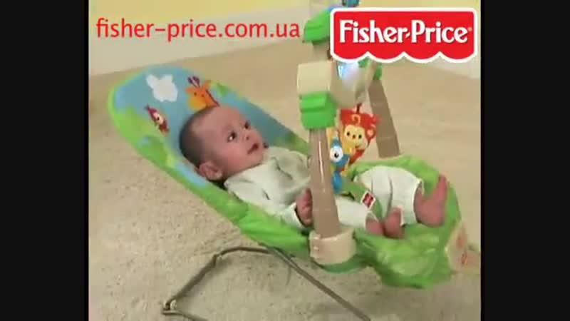 Кресло-качалка Жираф Fisher-Price (прокат РАСТИШКА)