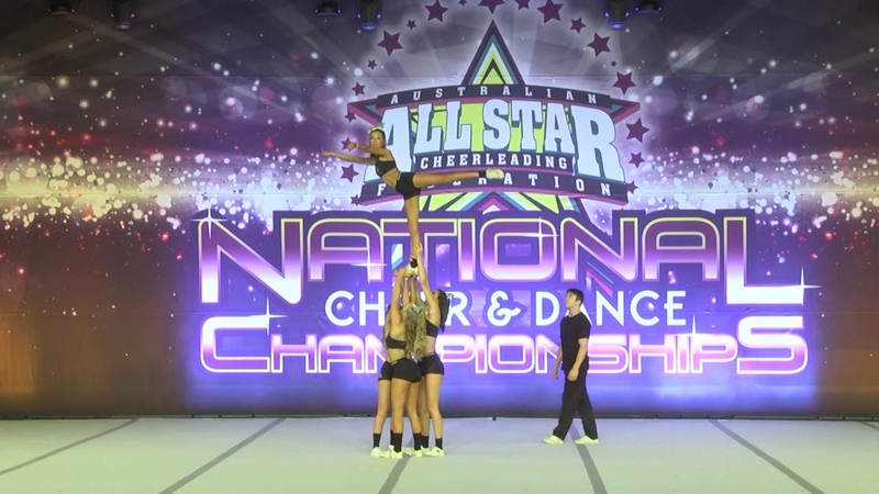 Bullets Allstars Cheerleading 2016 - Snr Level 3 Group Stunt