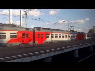 . Пушкино-Москва-Ярославский вокзал. Поездка на электричке