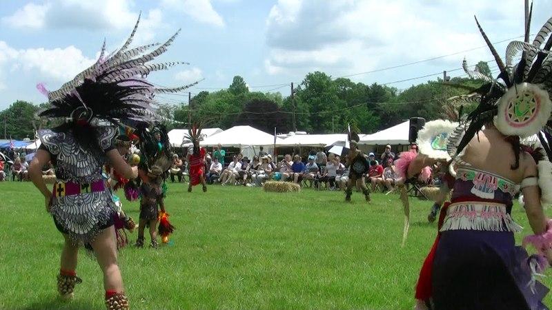 Mexica Dancers 2 - Redhawk - Raritan Native American Heritage PowWow 2018