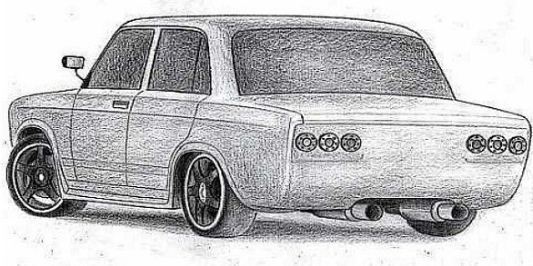 рисунки фото машин