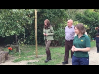 The Duchess of Cambridge is visiting @SCTrust Forest School and Wildlife Garden, which giv.mp4