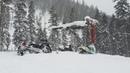 Мотоциклы на гусянке от Timbersled | Обзор носков с подогревом | Снегоходы BRP