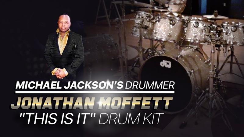 The Last Drum Kit Used Onstage with Michael Jackson...